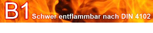 Satin Schwer entflammbar B1
