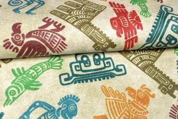Nubukleder-Imitat - Azteke