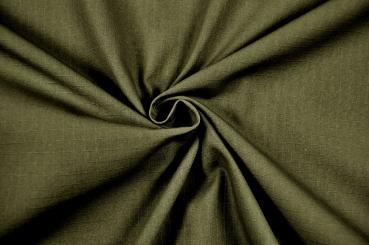 Segeltuch-Stoff Dorado - Military Green - B-Ware