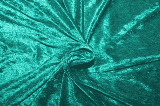 Pannesamt Aquamarine