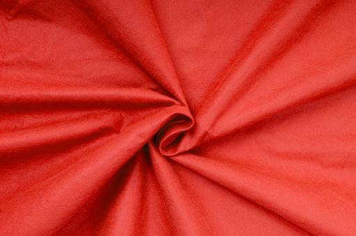 Filz Stoff 1,5 mm stark - 180 cm Rot