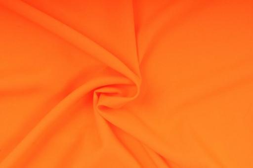 Hussen Stoff - Neonfarben Neon-Orange