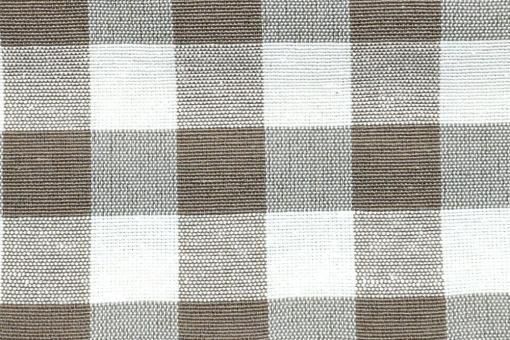 Dekostoff - Vichy-Karo 1,5 cm - 280 cm breit Hellbraun