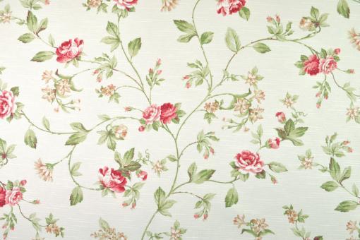 Dekostoff - Landhausstil Rosen Style 1 - 280 cm