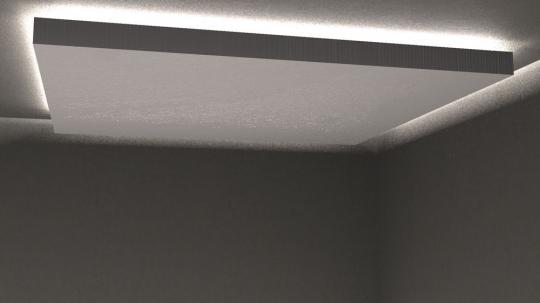 Allround Stoff - schwer entflammbar Weiß